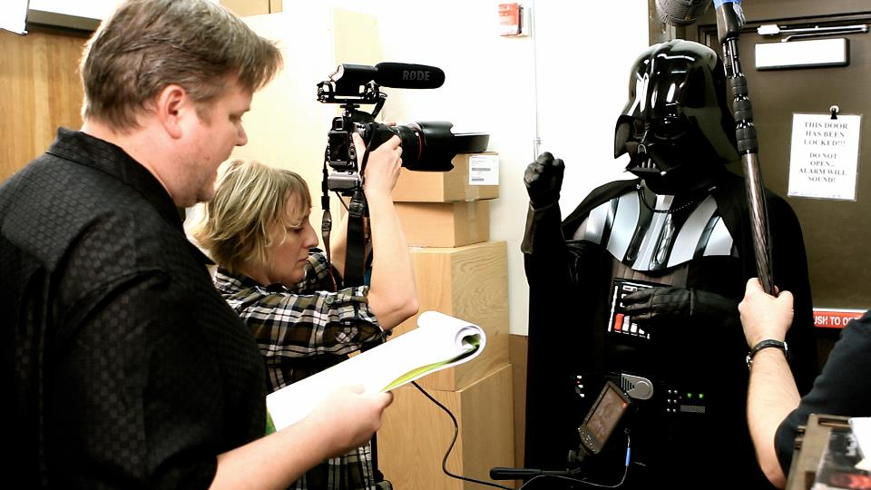 Chad Vader filming