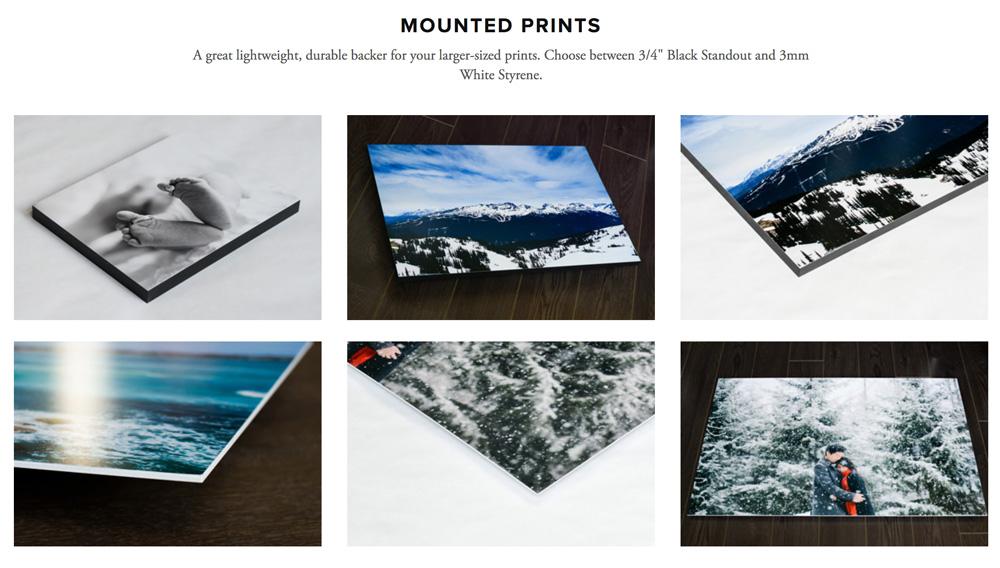 Order Mounted Prints - www.tonawilliams.com