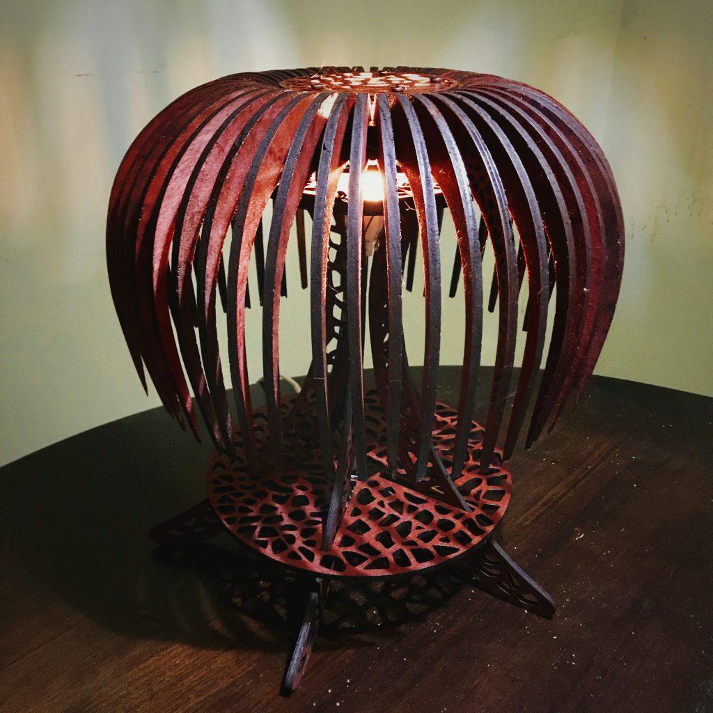 Aquatic Lamp by Tona Williams