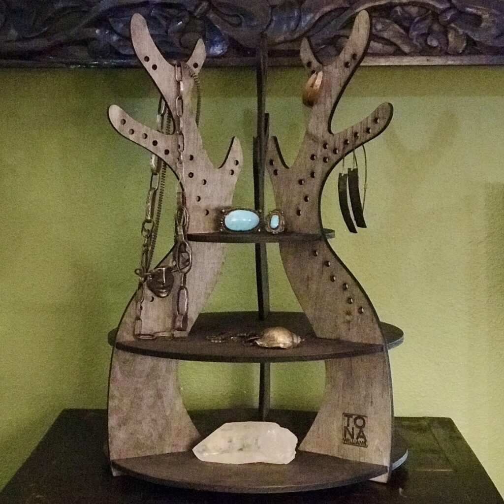 Antler Jewelry Stand by Tona Williams